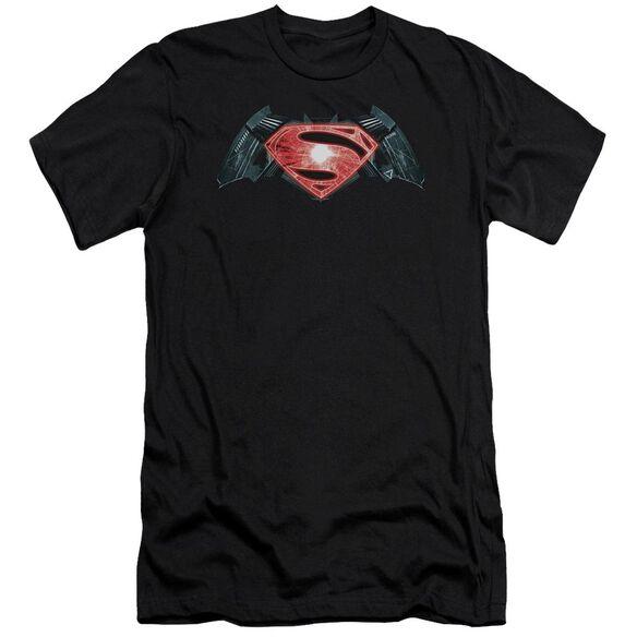 Batman V Superman Industrial Logo Short Sleeve Adult T-Shirt