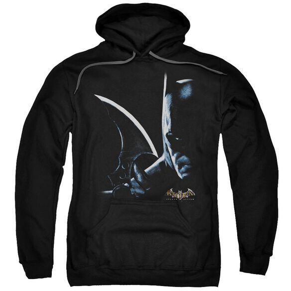 Batman Aa Arkham Batman Adult Pull Over Hoodie