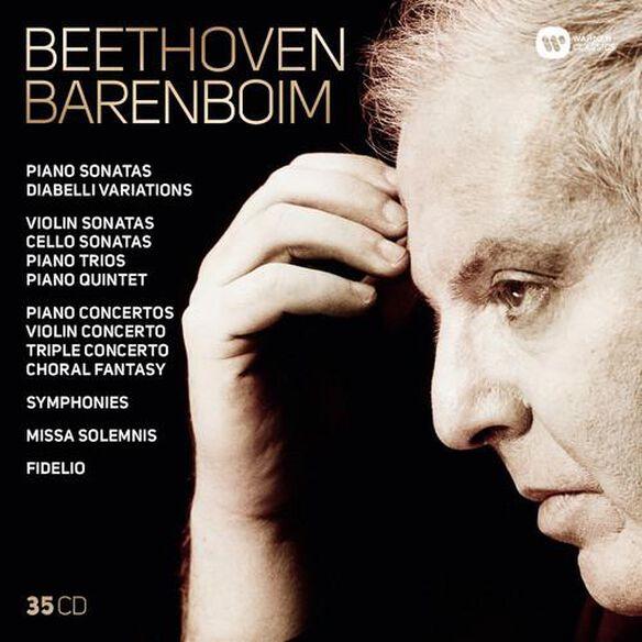 Daniel Barenboim - Complete Beethoven: Symphonies Overtures Concertos
