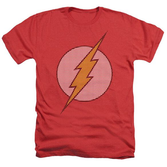 Dc Flash Flash Little Logos Adult Heather