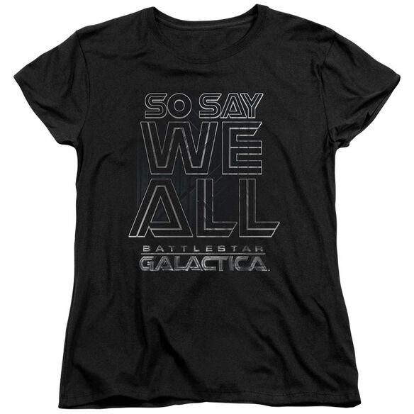 Bsg Together Now Short Sleeve Womens Tee T-Shirt