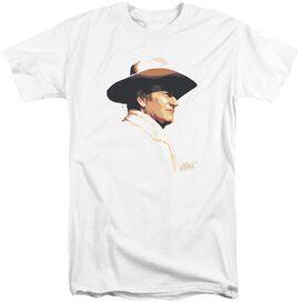 John Wayne Painted Profile Short Sleeve Adult Tall T-Shirt
