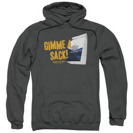 White Castle Gimmie A Sack Adult Pull Over Hoodie