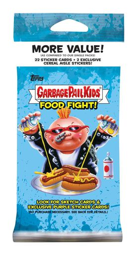 2021 Topps Garbage Pail Kids Food Fight! Fat Pack