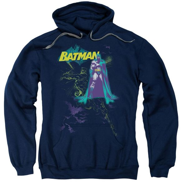 Batman Bat Spray Adult Pull Over Hoodie
