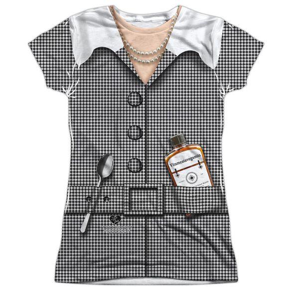 I Love Lucy Vita Costume Short Sleeve Junior Poly Crew T-Shirt