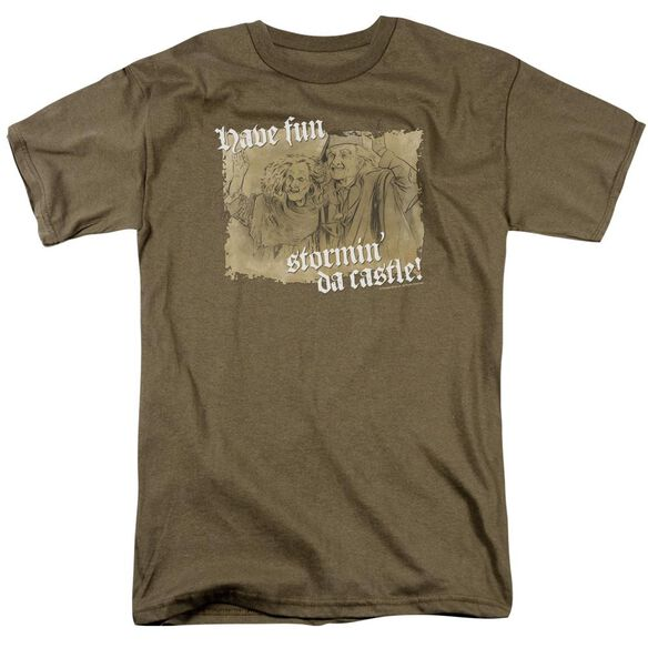 Pb Stormin Da Castle Short Sleeve Adult Safari Green T-Shirt