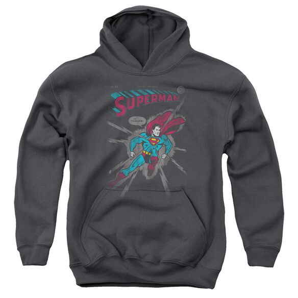 Superman It Tickles Youth Pull Over Hoodie