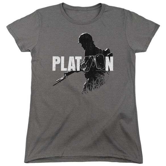Platoon Shadow Of War Short Sleeve Womens Tee T-Shirt