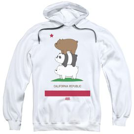 We Bare Bears Cali Stack Adult Pull Over Hoodie