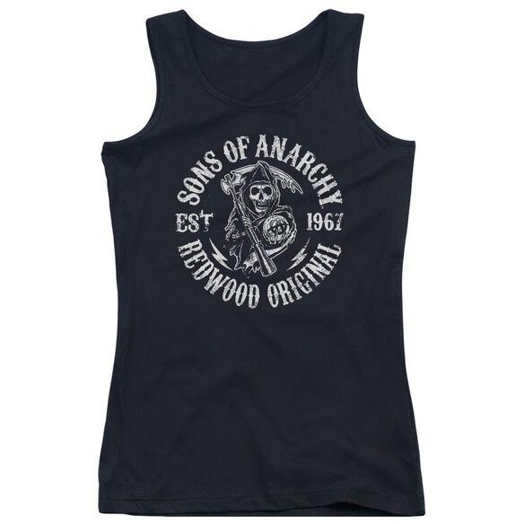 Sons Of Anarchy Redwood Originals Juniors Tank Top