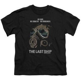 Last Ship Mask Short Sleeve Youth T-Shirt