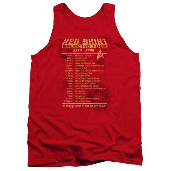 Star Trek Shirt Tour Adult Tank