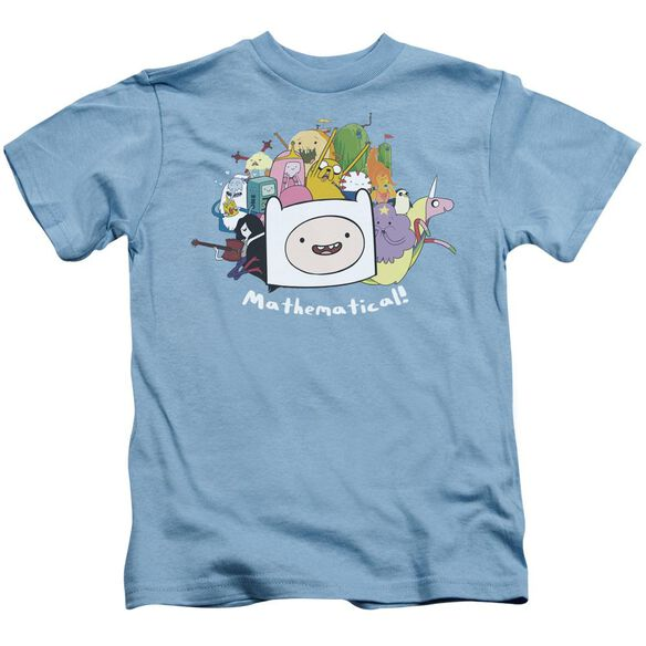 Adventure Time Mathematical Short Sleeve Juvenile Carolina T-Shirt
