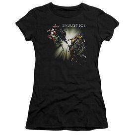Injustice Gods Among Us Good Vs Evil Premium Bella Junior Sheer Jersey