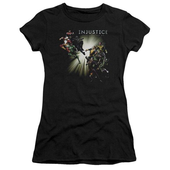 Injustice Gods Among Us Good Vs Evil Premium Bella Junior Sheer Jersey