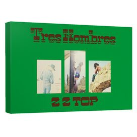 Zz Top Tre Hombres Cover Canvas Wall Art With Back Board