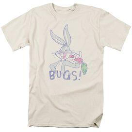 Looney Tunes Bugs Short Sleeve Adult T-Shirt