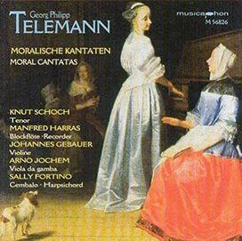 Telemann/ Knut Schoch / Manfred Harras / Fortino - Moral Cantatas / Generalbassubungen