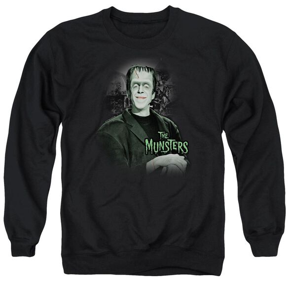The Munsters Man Of The House Adult Crewneck Sweatshirt