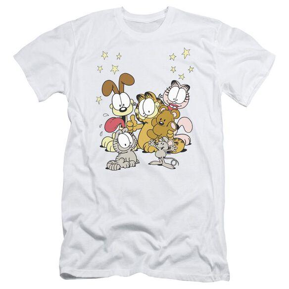 Garfield Friends Are Best Short Sleeve Adult T-Shirt