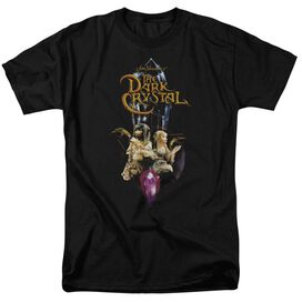 DARK CRYSTAL CRYSTAL QUEST - S/S ADULT 18/1 - BLACK T-Shirt