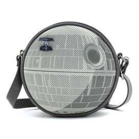 Loungefly Star Wars The Empire Strikes Back 40th Anniversary Death Star Collector Bag with Pin