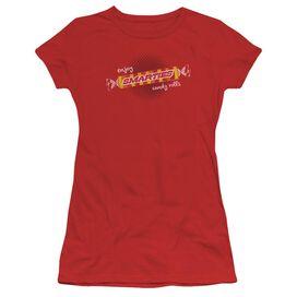 Smarties Enjoy Short Sleeve Junior Sheer T-Shirt