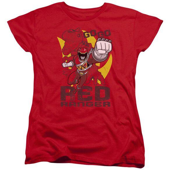 Power Rangers Go Short Sleeve Womens Tee T-Shirt