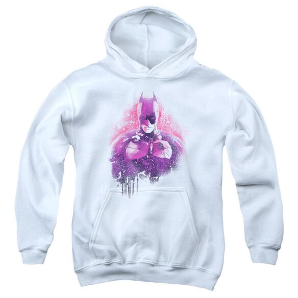 Dark Knight Rises Spray Bat Youth Pull Over Hoodie