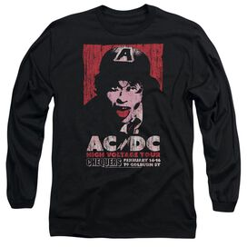 Acdc High Voltage Live 1975 Long Sleeve Adult T-Shirt
