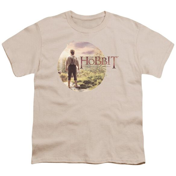 The Hobbit Hobbit In Circle Short Sleeve Youth T-Shirt