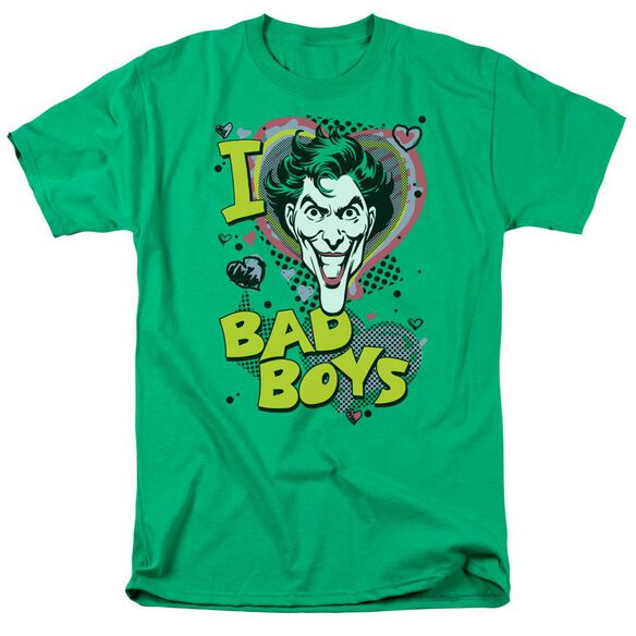 Dc I Heart Bad Boys 2 Short Sleeve Adult Kelly T-Shirt