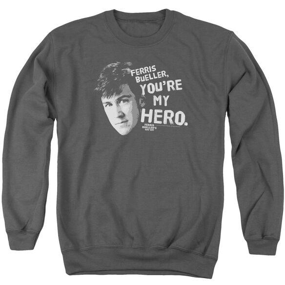 Ferris Bueller My Hero Adult Crewneck Sweatshirt