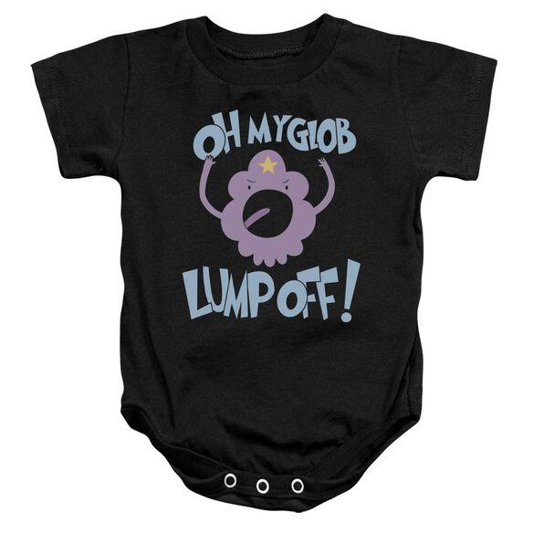 Adventure Time Lump Off Infant Snapsuit Black