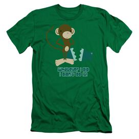 I Didnt Do It! Short Sleeve Adult Kelly T-Shirt