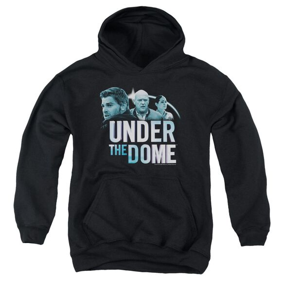 Under The Dome Character Art Youth Pull Over Hoodie