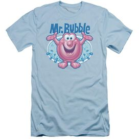 Mr Bubble Overflowing Short Sleeve Adult Light T-Shirt