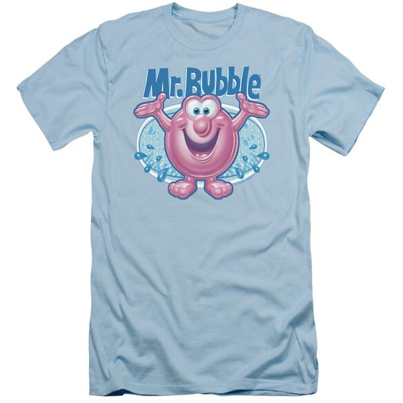 Mr Bubble Overflowing Short Sleeve Adult Light T-Shirt