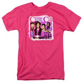 Culture Club Club Short Sleeve Adult Hot Pink T-Shirt
