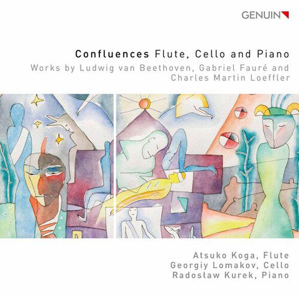 Beethoven/ Atsuko Koga/ Radoslaw Kurek - Confluences