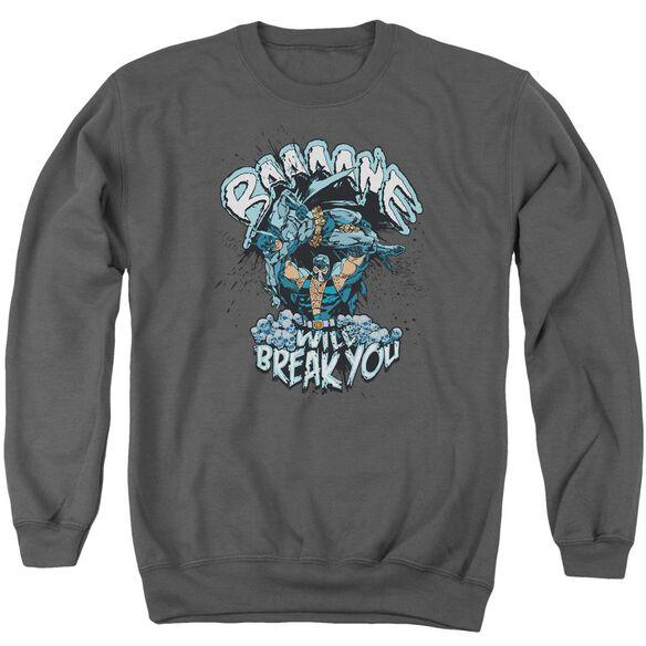 Batman Bane Will Break You Adult Crewneck Sweatshirt