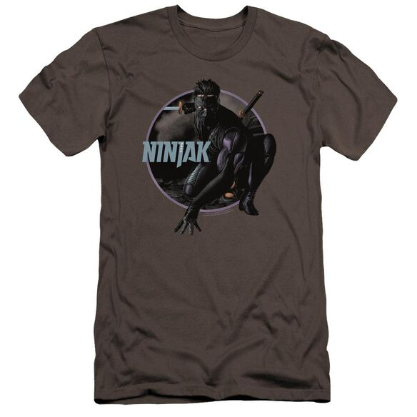 Ninjak Crouching Ninjak Premuim Canvas Adult Slim Fit