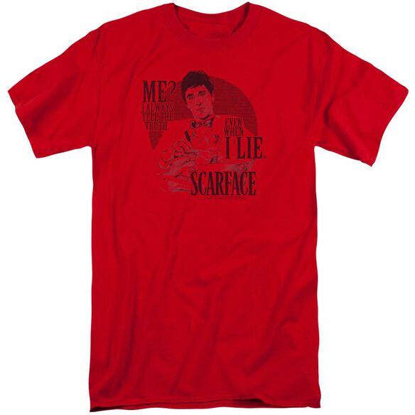 Scarface Truth Short Sleeve Adult Tall T-Shirt