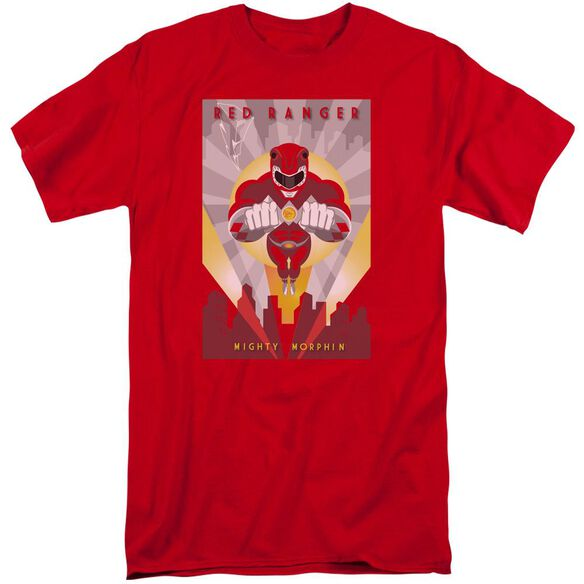 Power Rangers Deco Short Sleeve Adult Tall T-Shirt