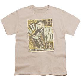 Sun Rock N Roll Began Poster Short Sleeve Youth T-Shirt