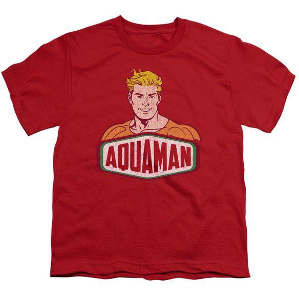 Dco Aquaman Sign Short Sleeve Youth T-Shirt