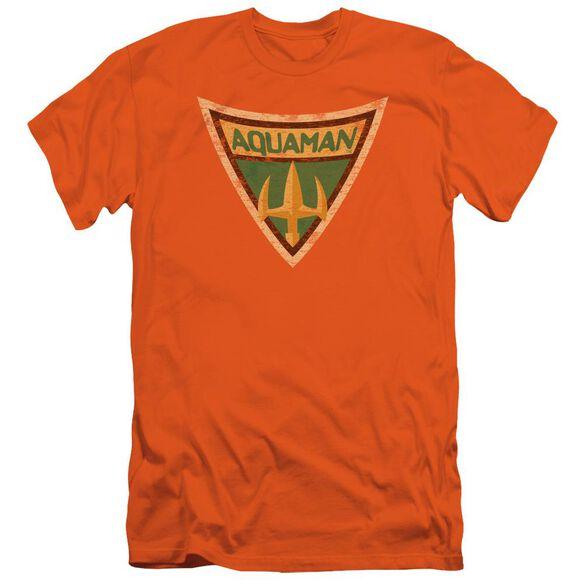 Batman Bb Aquaman Shield Short Sleeve Adult T-Shirt