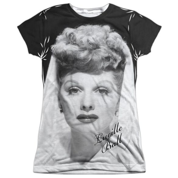 Lucille Ball Glamourous Short Sleeve Junior Poly Crew T-Shirt