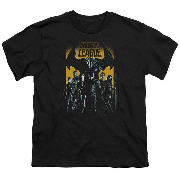 Justice League Movie Stand Up To Evil Short Sleeve Youth T-Shirt